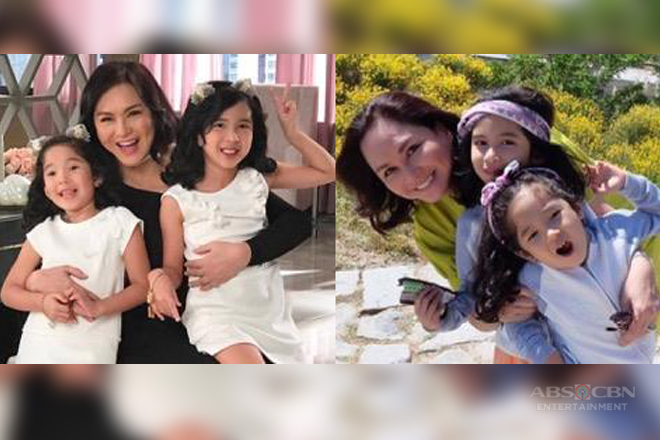 "27 Photos of Charo Santos-Concio with her grand daughters that show she's the best ""Lola"" in town!"