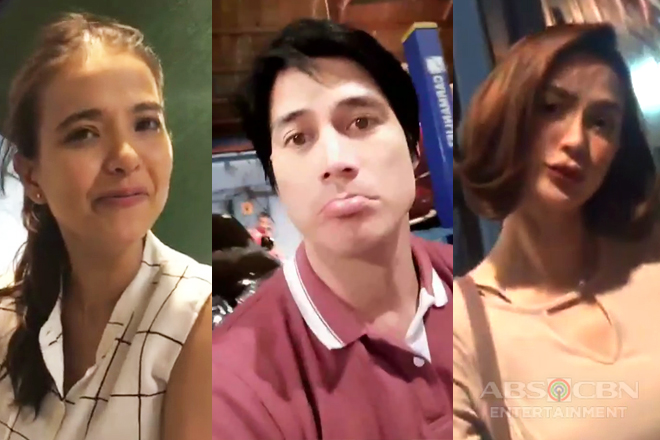 Off cam: Since I Found You cast taking the romance and comedy to Instagram